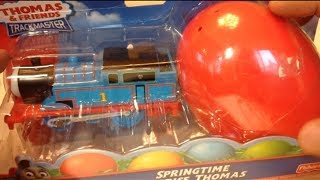 getlinkyoutube.com-Thomas and Friends TrackMaster Train with a Surprise Springtme Egg by PleaseCheckOut