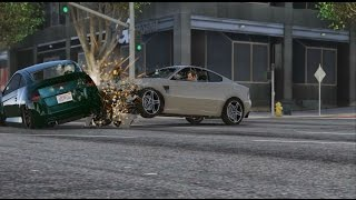 getlinkyoutube.com-GTA 5 PC: Realistic Crash Deformation Mod