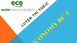 getlinkyoutube.com-Luyện Thi TOEIC - GIải chi tiết Economy RC5 - Test 1