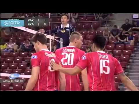 Pakistan vs France Volleyball match 2012.mp4