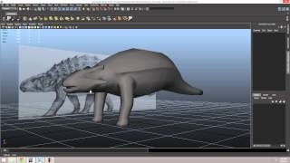 getlinkyoutube.com-Ankylosaurus Modeling Completed