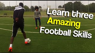 Learn three skills to fool a defender - Can you do them all?