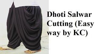 getlinkyoutube.com-Dhoti Salwar Cutting