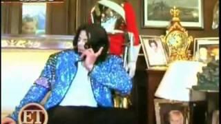 getlinkyoutube.com-Michael Jackson sings acapella for Elizabeth Taylor