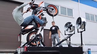 getlinkyoutube.com-Вилли Машина Stuntex  - Wheelie Machine