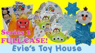 getlinkyoutube.com-Disney Tsum Tsum Vinyl Mystery Stack Pack SERIES 2 Blind Bags | Evies Toy House