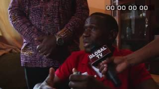 getlinkyoutube.com-GLOBAL TV ON LINE - LIVE: Wakonta(amepooza miguu na mikono), Dickson (amepooza miguuu) Wakutanishwa!