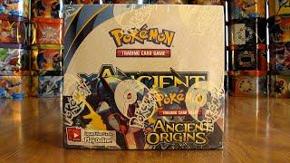 getlinkyoutube.com-Pokemon Ancient Origins Booster Box Opening Pt. 1