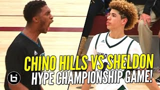 getlinkyoutube.com-Ball Brothers vs Duplechan Brothers! Chino Hills vs Sheldon HYPE Championship Game! Full Highlights!