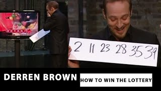 getlinkyoutube.com-Derren Brown Predicts The Correct Lottery Numbers - How To Win The Lottery