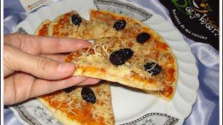 getlinkyoutube.com-شهيوات ريحانة كمال بيتزا بدون فرن رائعة جدا مع صلصة لذيذة