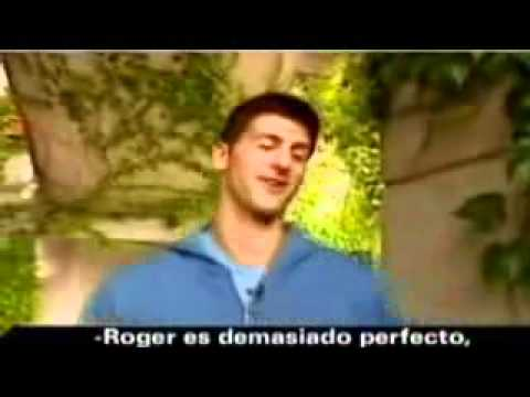 Novak Djokovic imitates Federer Rafa and others... VERY FUNNY