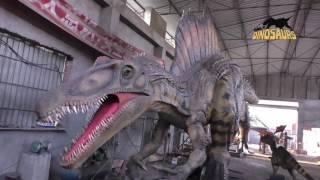 getlinkyoutube.com-Dinosaur Spinosaurus Robot for Sale