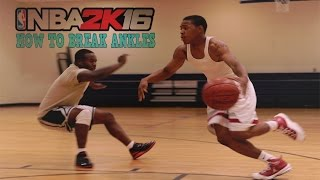 getlinkyoutube.com-NBA2k16 How To Break Ankles and Best Size Up Animations