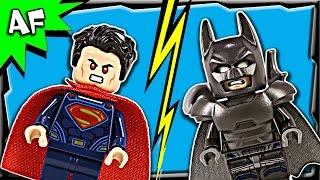 getlinkyoutube.com-Lego Batman V Superman CLASH OF HEROES 76044 Stop Motion Build Review