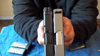 getlinkyoutube.com-S&W M&P Shield 9mm vs Kahr CW9: Size & Feature Comparison