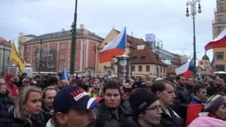 getlinkyoutube.com-Demonstrace 17. 11. 2016 Nám. Republiky - Pavel Krejčí