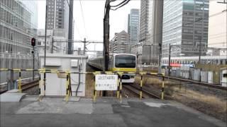 getlinkyoutube.com-総武緩行線 異音感知時の遅れ&発車メロディー@錦糸町