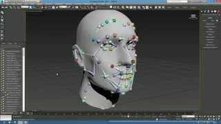 getlinkyoutube.com-How to create bones for facial rig in 3ds Max - FaceEngine fixed