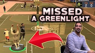 getlinkyoutube.com-MISSED A GREENLIGHT ! 2K DEVS HATING ! WITH GRAND BADGE ! NBA 2K17 MyPARK