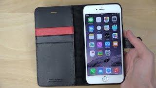 getlinkyoutube.com-iPhone 6 Plus Wallet S Spigen Case - Review (4K)