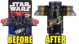getlinkyoutube.com-Hasbro Kylo Ren Lightsaber Makeover- Chris' Custom Collectables!