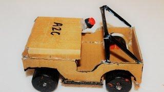 getlinkyoutube.com-how to make a Jeep using DC Motor
