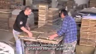 "getlinkyoutube.com-The ""Mouldstencils"" technology: producing concrete decorative stones with ""Mouldstencils"" moulds"