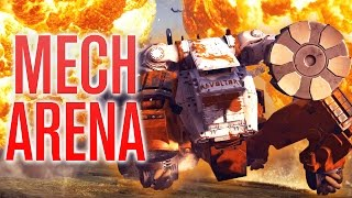 getlinkyoutube.com-THE MECH ARENA BATTLE!!! | JUST CAUSE 3 (Funny Moments)