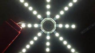 getlinkyoutube.com-Oriental LED death star.  (Shock risk)