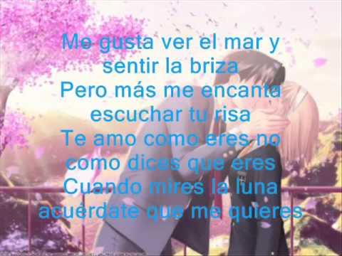 Te amo como eres | Mc Richix 2013 Rap romantico | ^-^! |