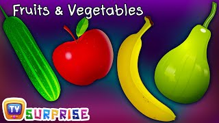 getlinkyoutube.com-Surprise Eggs Toys Learn Fruits & Vegetables for Kids | ChuChuTV Egg Surprise for Children