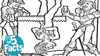 getlinkyoutube.com-Top 5 DISTURBING Medieval Torture Facts