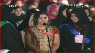 getlinkyoutube.com-Girl justfies idol By Dr Zakir Naik Urdu Peace Conference Nov 2011