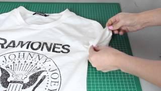getlinkyoutube.com-DIY PERSONALIZA TUS CAMISETAS (3 Ideas) Fashion Riot