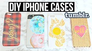 getlinkyoutube.com-DIY iPhone Cases for $1! Tumblr inspired