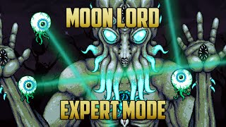 getlinkyoutube.com-Terraria - Moon Lord Boss Expert Mode Guide with Melee