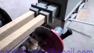 getlinkyoutube.com-sawdust, wood Pallet Blocks making machine 008613783454315