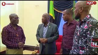 Alichoongea Rais Magufuli kwa Babu Seya na watoto wake Ikulu leo