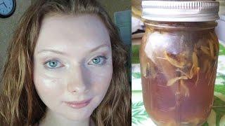 getlinkyoutube.com-DIY Herbal Facial Toner   ACNE   REDNESS