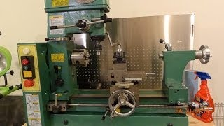 getlinkyoutube.com-Tramming the Grizzly G4015 and other lathe/mills