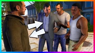 10 Grand Theft Auto Characters That Make SECRET Appearances In GTA 5 & Other Rockstar Games! (GTA V)