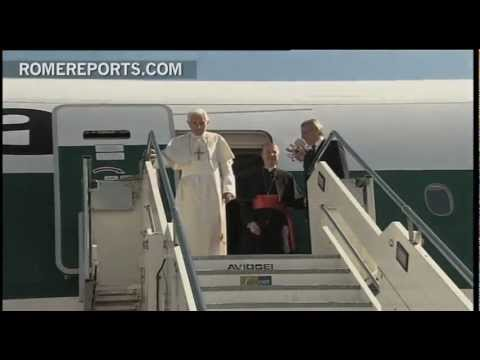 Pope reportedly injured during trip to Mexico back in March 2012