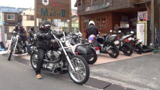 getlinkyoutube.com-カスタムハーレー軍団 京都 Harley‐Davidson Motor Company