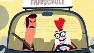 getlinkyoutube.com-Fahrschule - Kinder Schokobons