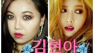 getlinkyoutube.com-HYUNA 김현아 A+ COMEBACK MAKEUP