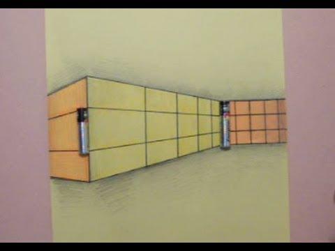 خداع بصري - الحائط والبطاريات