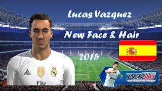 getlinkyoutube.com-[Pes 2013] - New Best Face & Hair Lucas Vazquez - Real Madrid ( 2015 - 16)