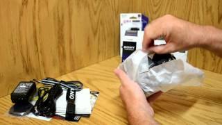 Sony DSC HX100V Cyber Shot Unboxing American Version