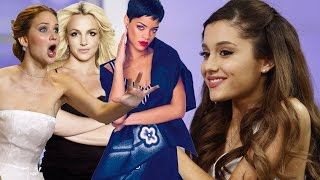 getlinkyoutube.com-Top 8 Favorite Ariana Grande Celebrity Impressions!